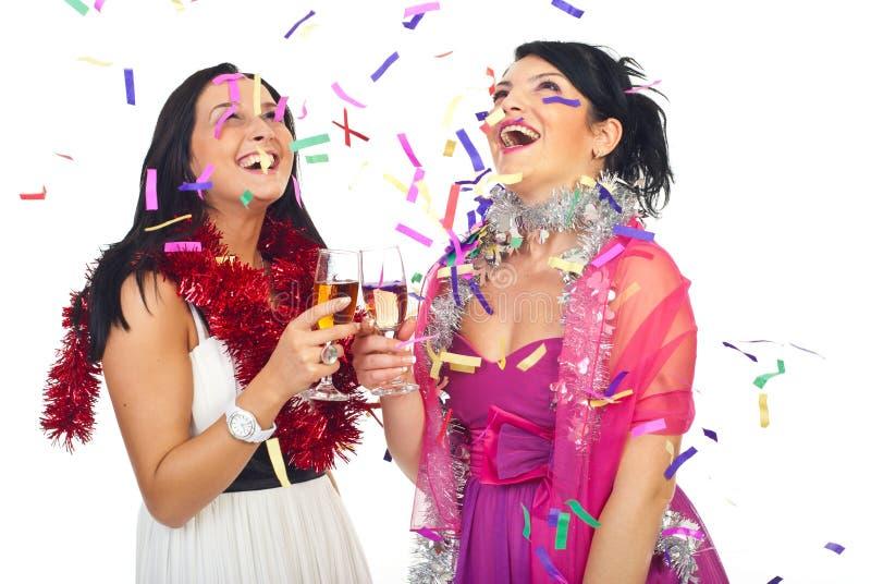 szczęśliwy świętowania przyjęcie zdjęcia stock