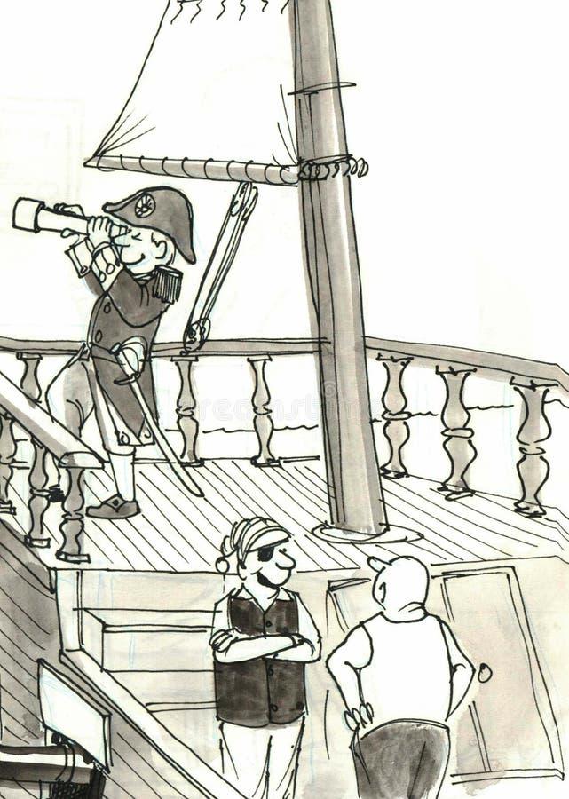 Szczęśliwy royalty ilustracja