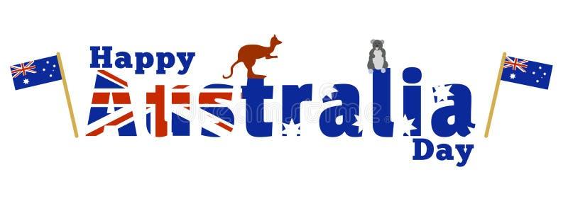 Szczęśliwy Australia dzień