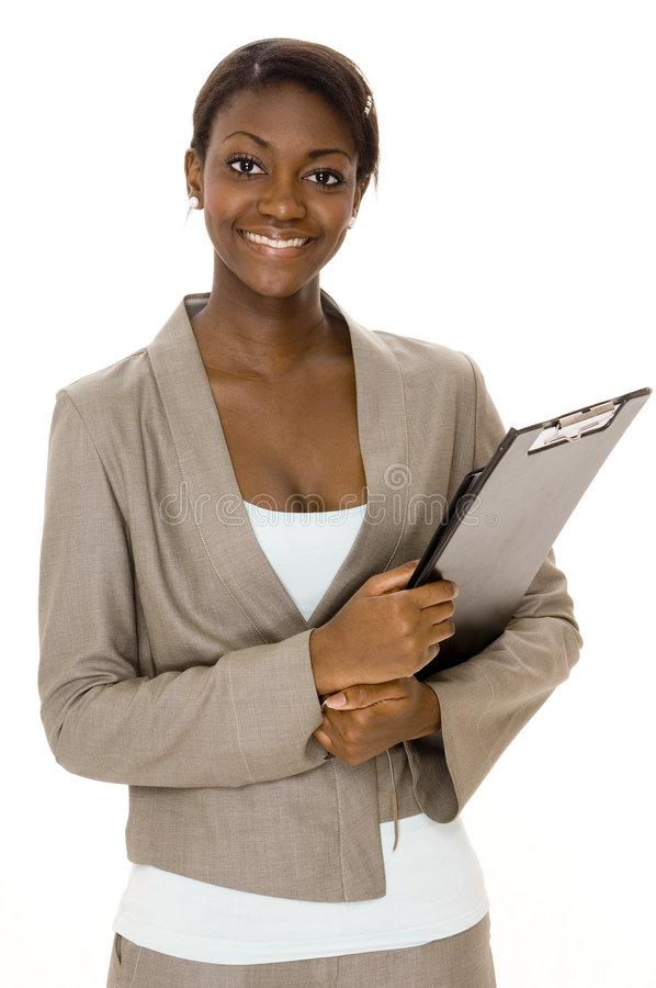 szczęśliwy bizneswoman zdjęcie royalty free