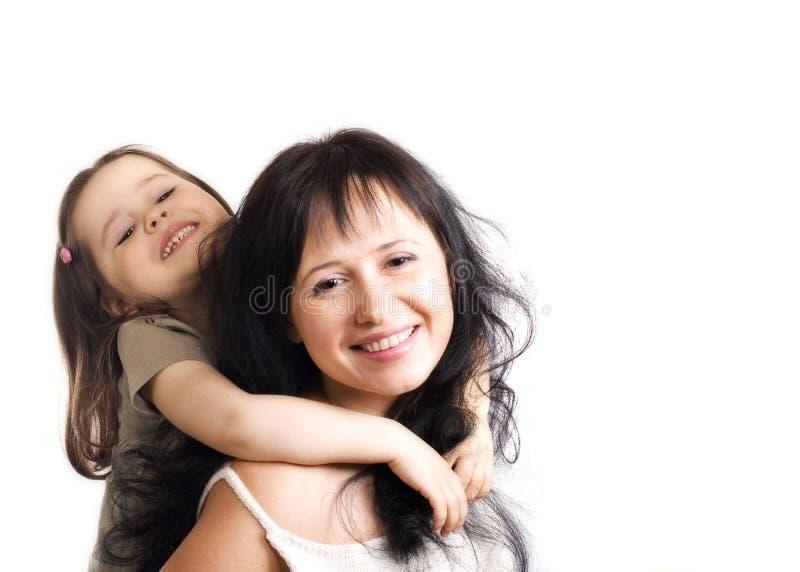 szczęśliwy córki mun obraz stock
