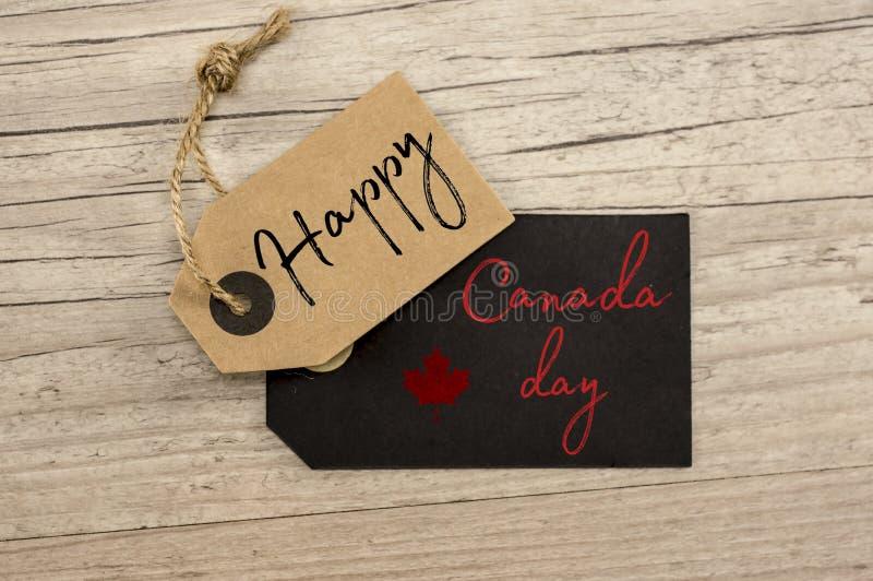 szczęśliwy Canada dzień fotografia stock