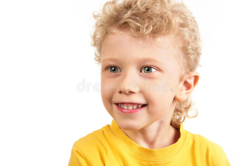 szczęśliwy chłopaczyna zdjęcie stock