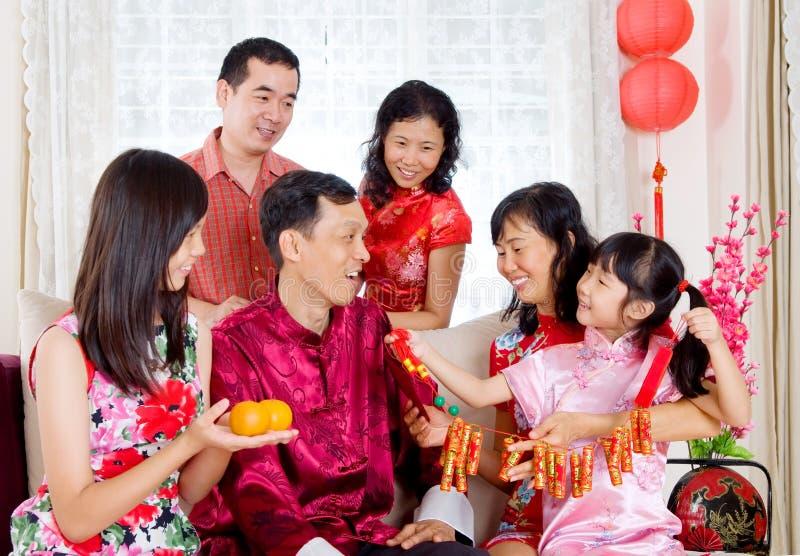 Szczęśliwy chiński nowy rok fotografia stock