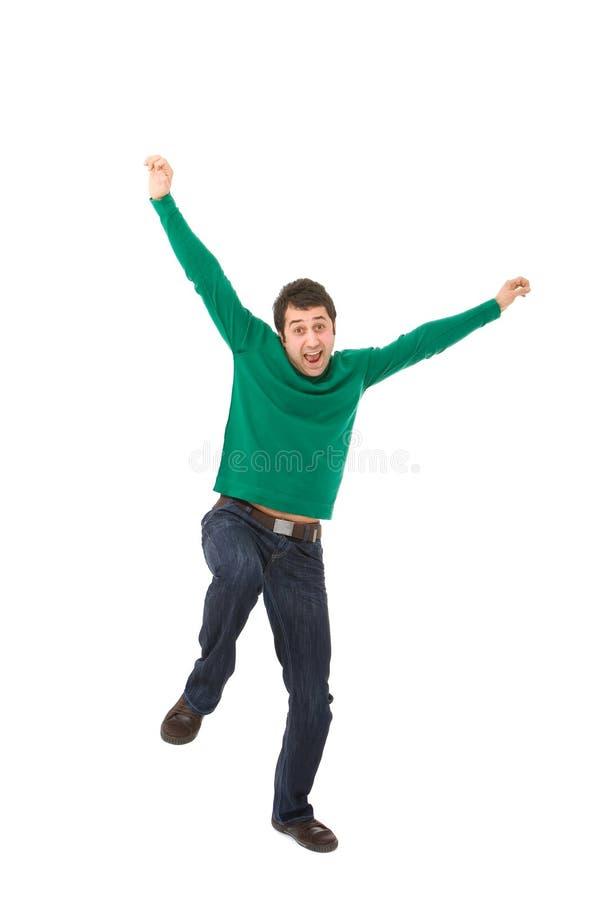 szczęśliwy człowiek obrazy royalty free