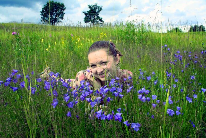 szczęśliwy dialogu fotografia royalty free