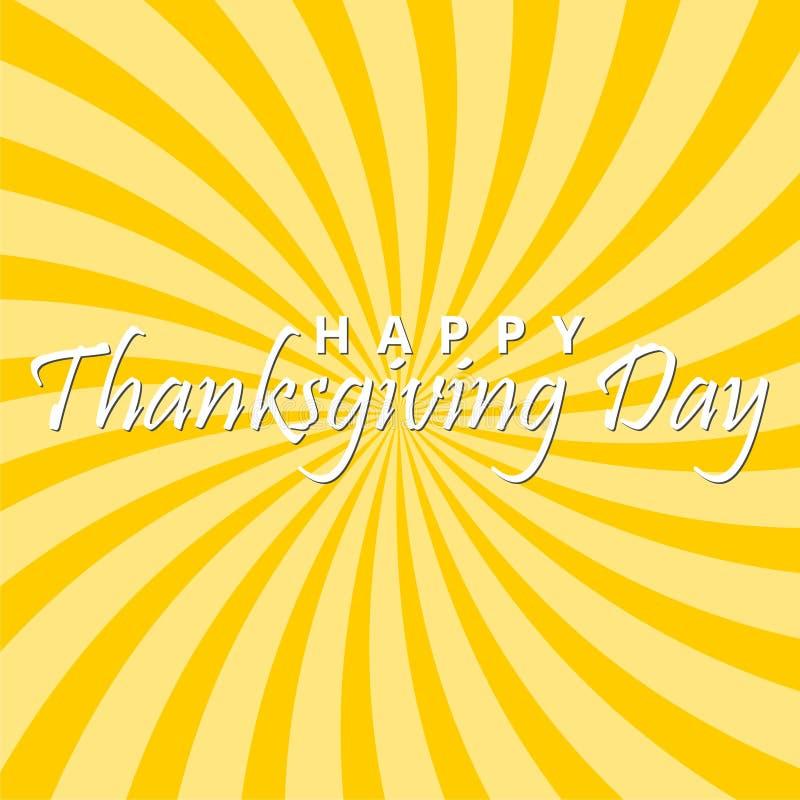 Szczęśliwy dziękczynienia dzień tło ilustracja wektor