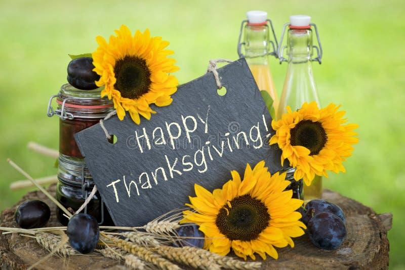 Szczęśliwy Dziękczynienie! zdjęcie stock