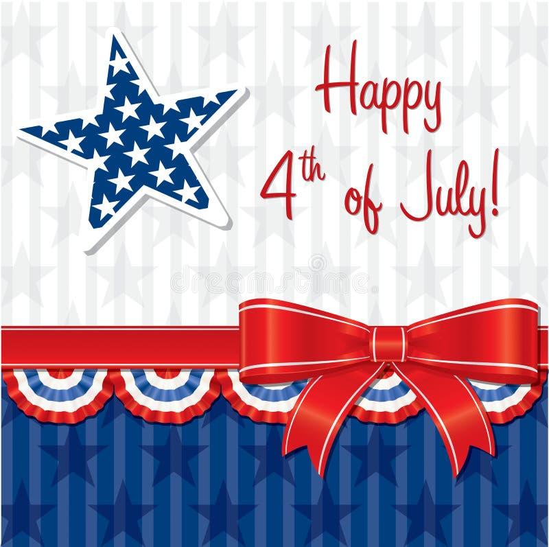 Szczęśliwy dzień niepodległości! royalty ilustracja