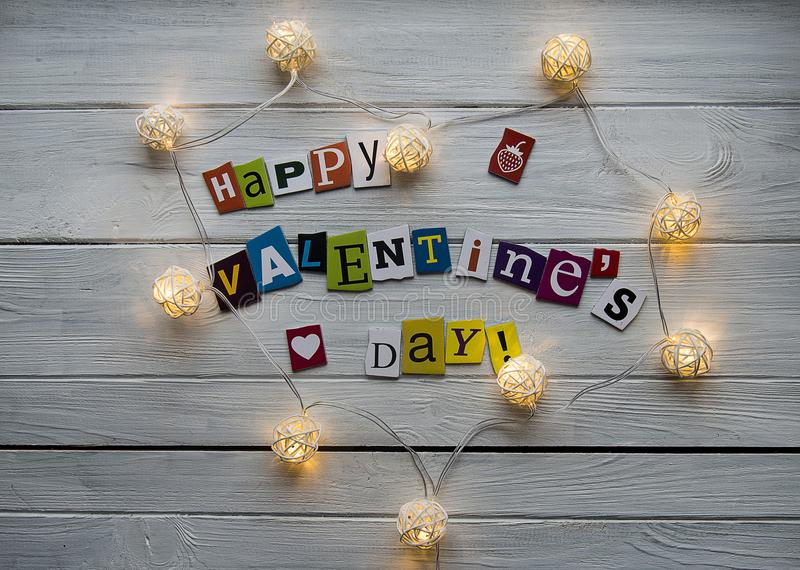 szczęśliwy dzień valentine s obraz stock