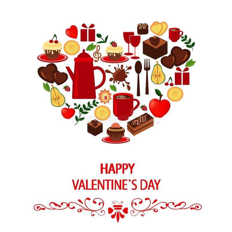 szczęśliwy dzień valentine s ilustracja wektor