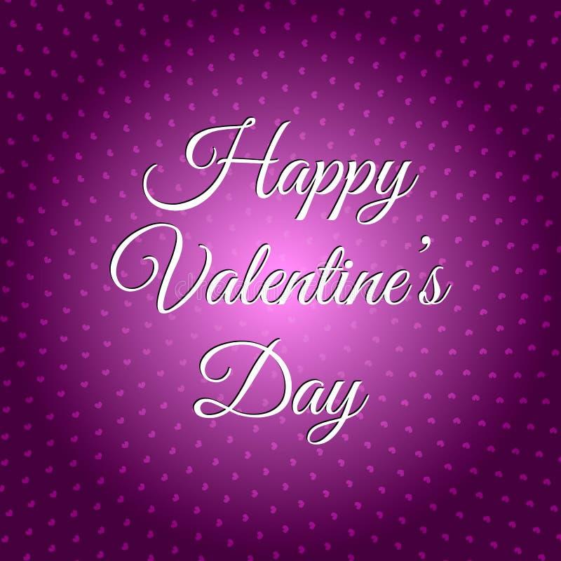 szczęśliwy dzień valentine s 14th Luty ilustracji