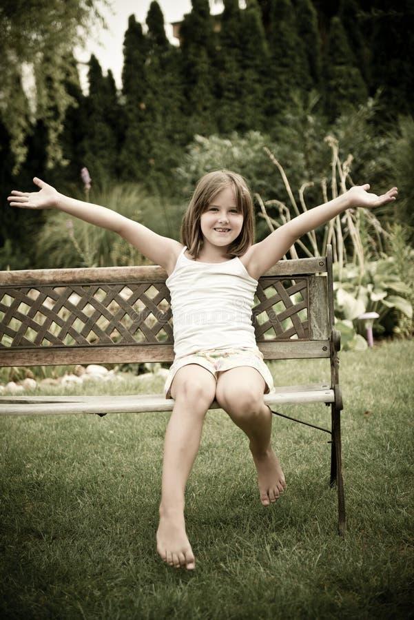 Szczęśliwy dziecko obraz royalty free