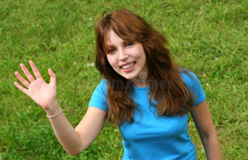 szczęśliwy dziewczyny nastolatków. obrazy stock