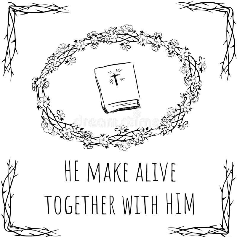 Szczęśliwy Easter - robi żywy wraz z On ilustracja wektor