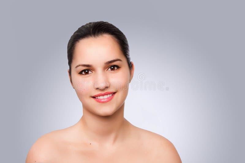 Szczęśliwy estetyki piękna portret zdjęcie stock