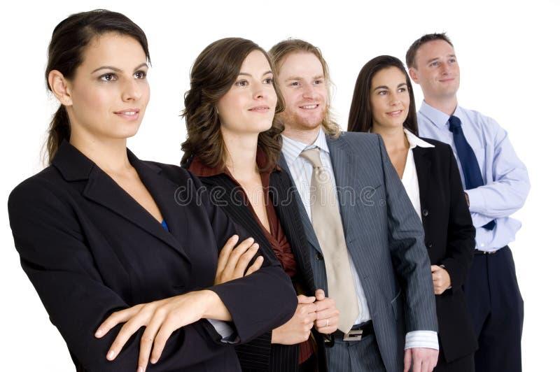 Szczęśliwy Grupowy Biznes zdjęcie royalty free