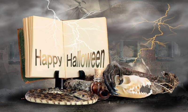 Szczęśliwy Halloween zdjęcia royalty free