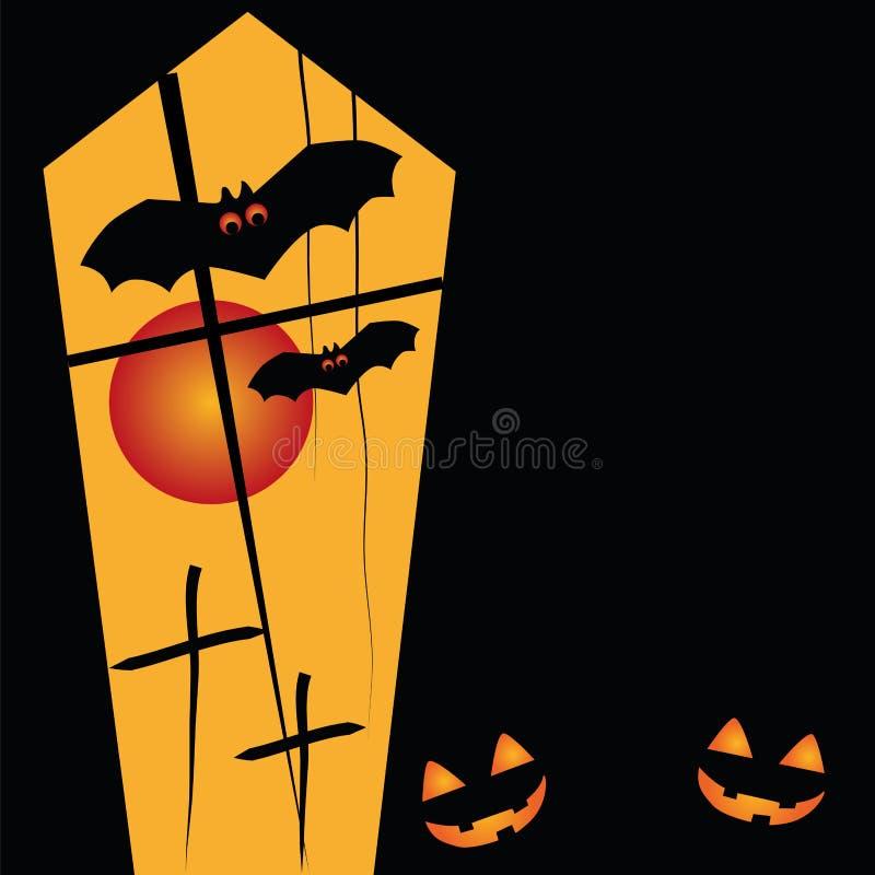 Szczęśliwy Halloween ilustracja wektor