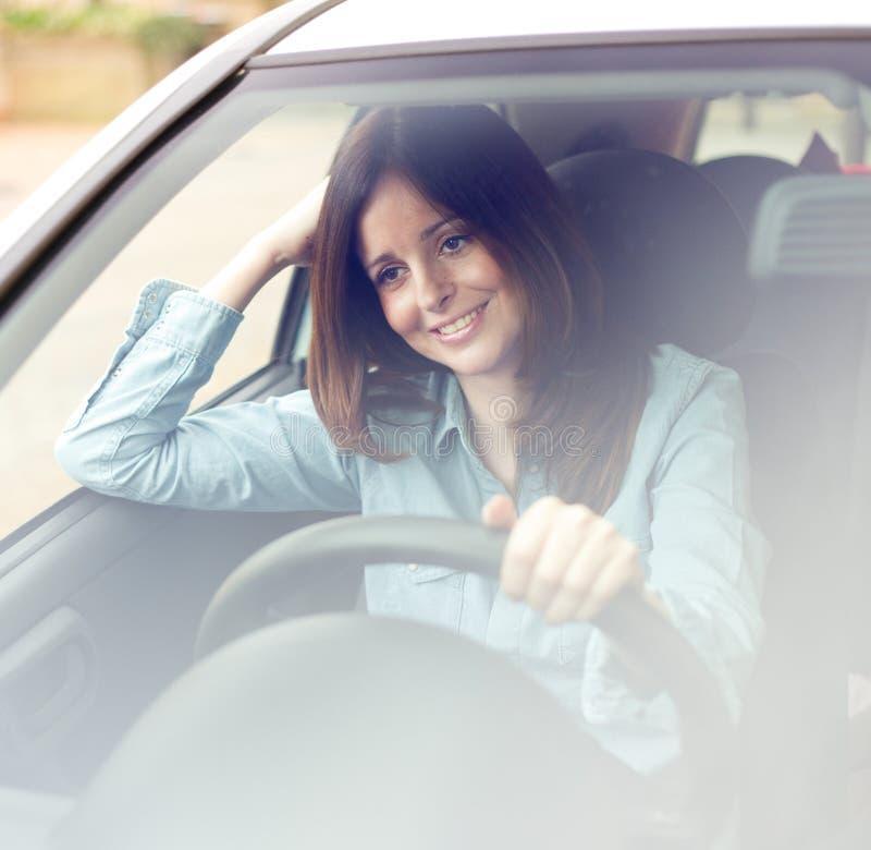 szczęśliwy kierowcy obrazy stock