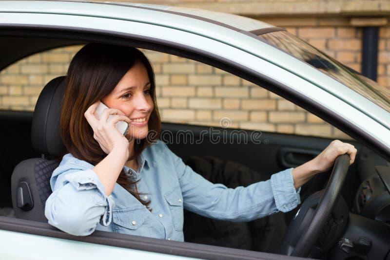 szczęśliwy kierowcy fotografia royalty free