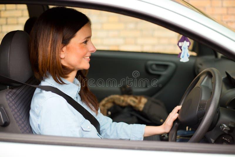szczęśliwy kierowcy zdjęcia stock