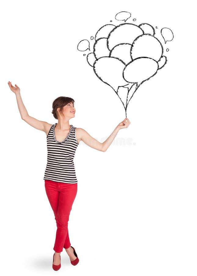 Download Szczęśliwy Kobiety Mienie Szybko Się Zwiększać Rysunek Ilustracji - Ilustracja złożonej z kreskówka, mienie: 53776588