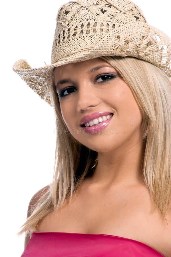 szczęśliwy kowbojka zdjęcie stock