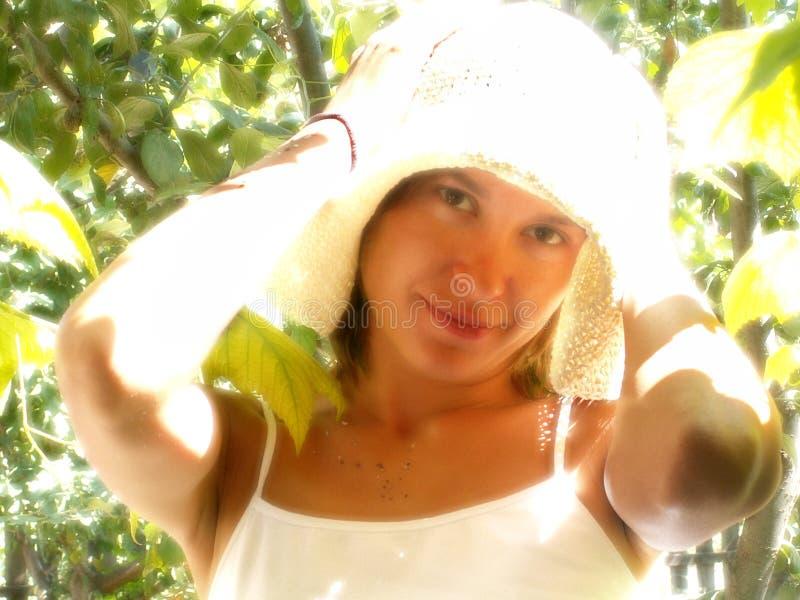 szczęśliwy lata słońce zdjęcia stock