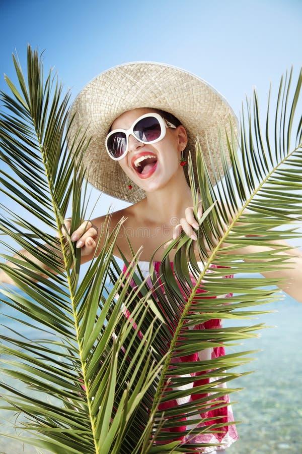 szczęśliwy lato fotografia stock