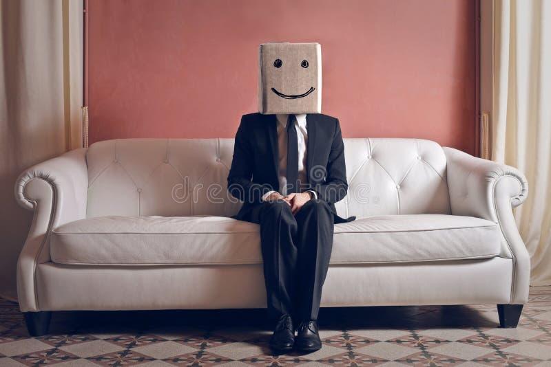 Szczęśliwy mężczyzna obraz stock