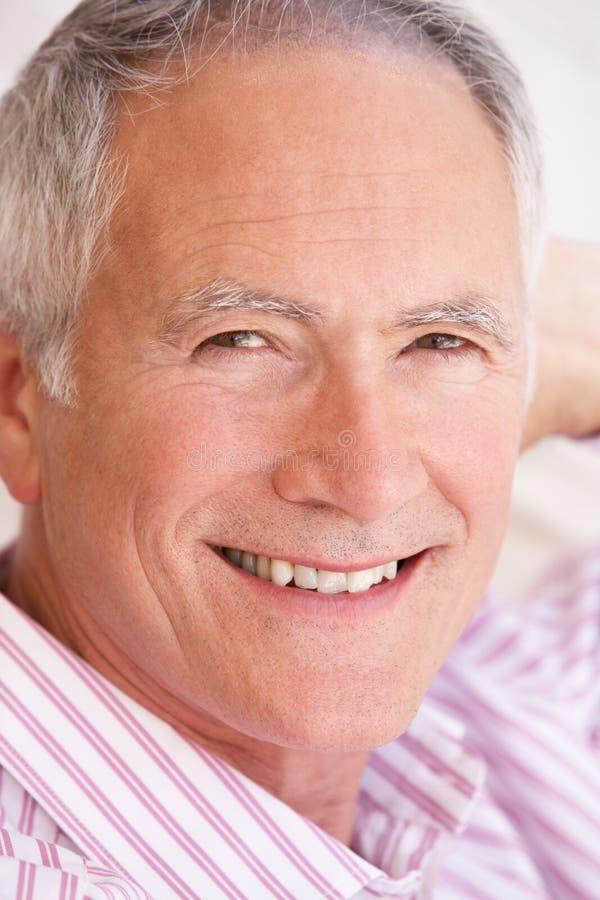 szczęśliwy mężczyzna portreta senior zdjęcia stock