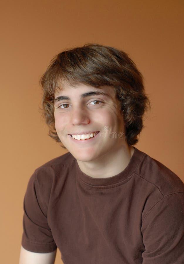 szczęśliwy męski nastolatka obraz royalty free