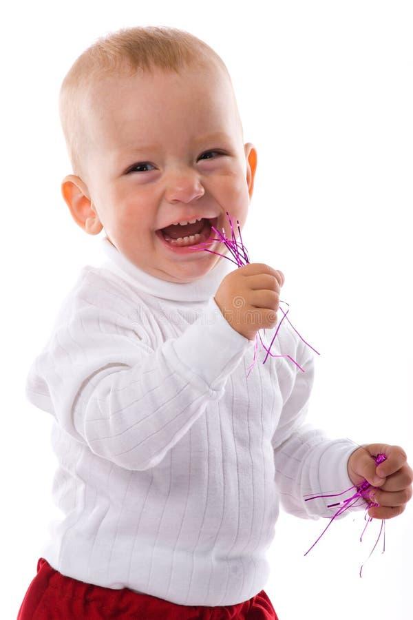 szczęśliwy mały chłopiec zdjęcie stock