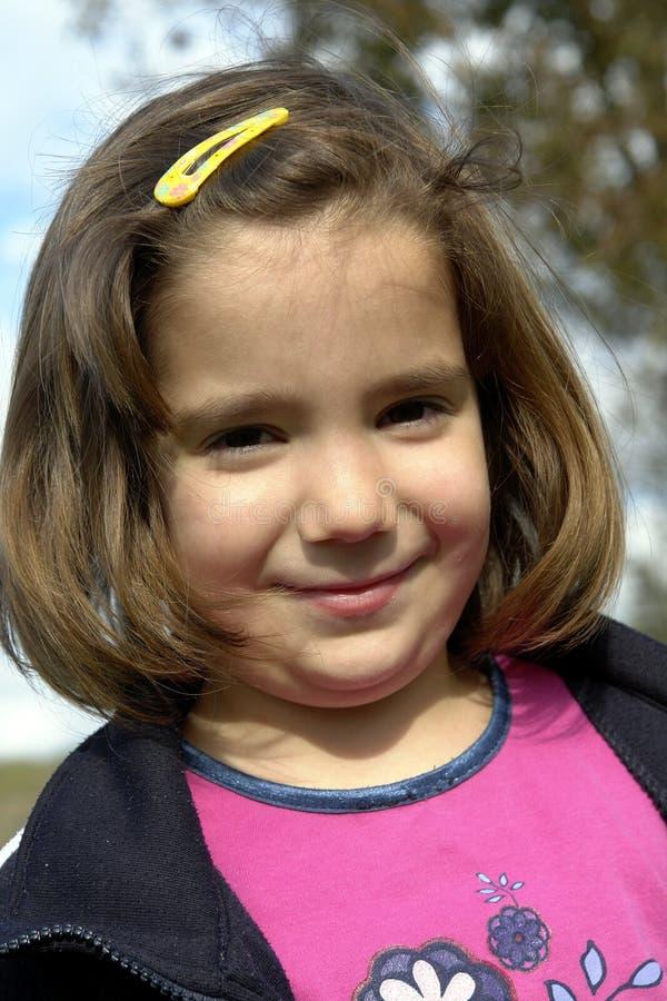 szczęśliwy mały dziewczyny obraz stock