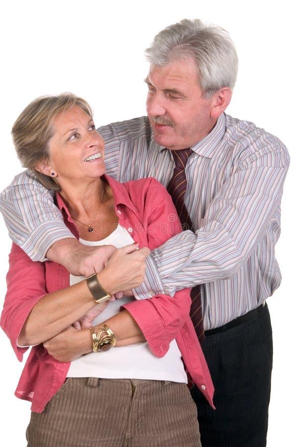 szczęśliwy middleaged pary zdjęcia royalty free