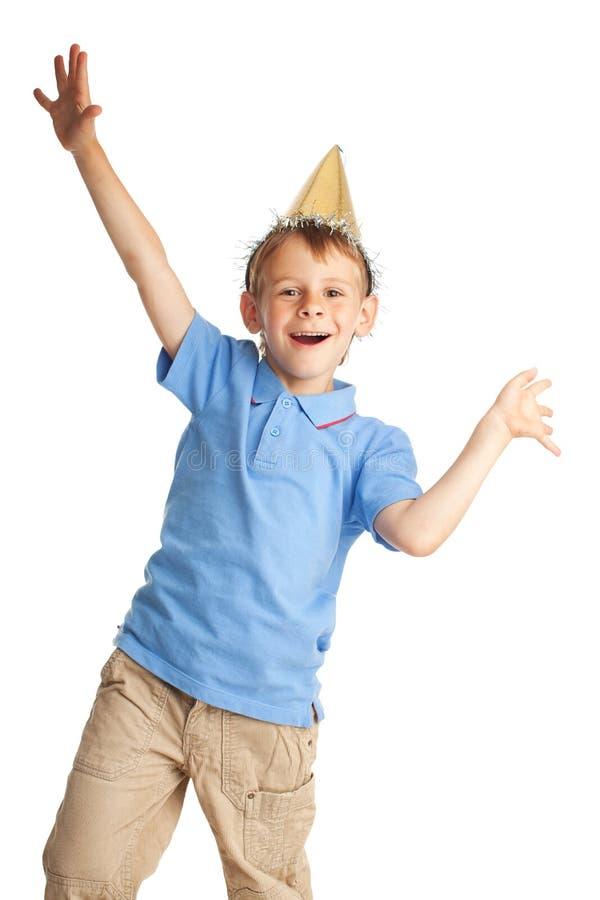 szczęśliwy nakrętki dziecko obrazy stock