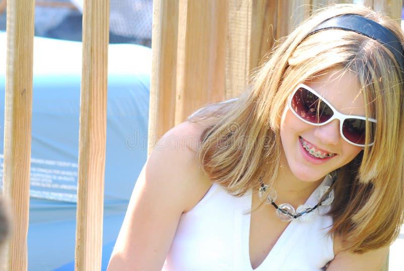 szczęśliwy nastolatków. obraz stock