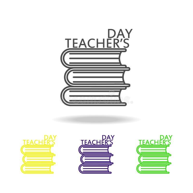 szczęśliwy nauczyciel, s dzień ' Edukacja symbolu znaka piktogram może używać dla sieci, logo, mobilny app, UI, UX ilustracja wektor