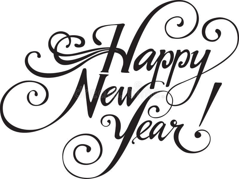 Szczęśliwy Nowy Rok! Zdjęcie Stock
