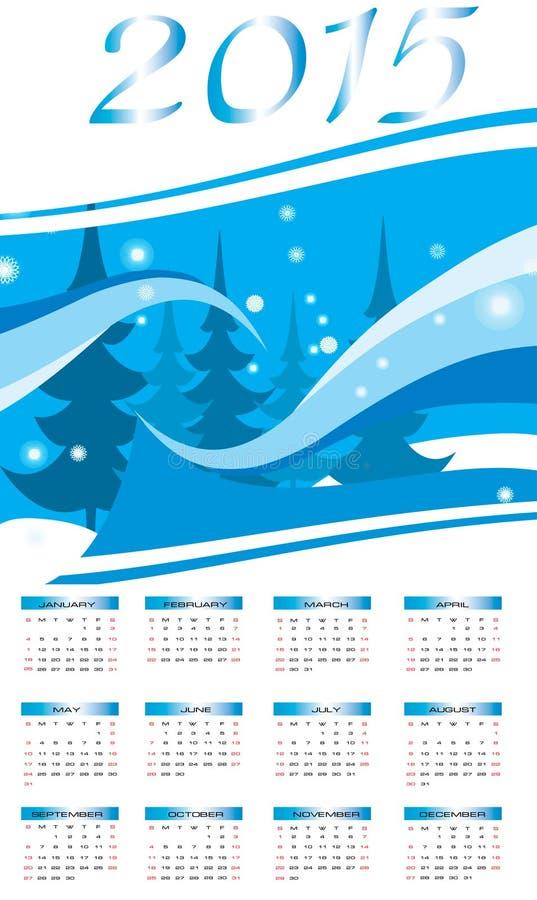 Szczęśliwy nowy rok - 2015 zdjęcia stock
