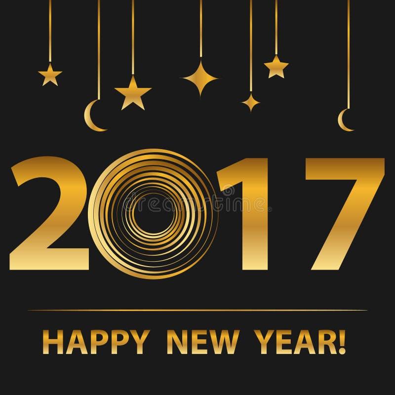 Szczęśliwy nowy rok, royalty ilustracja