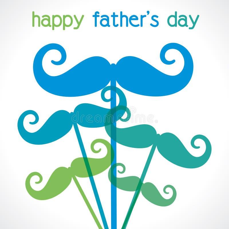 Szczęśliwy ojca dzień  ilustracji