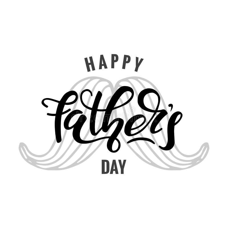Szczęśliwy ojca ` s dzień ilustracji