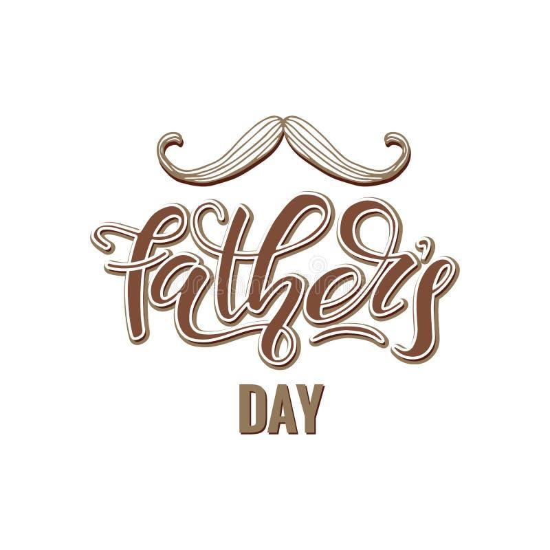 Szczęśliwy ojca ` s dzień ilustracja wektor
