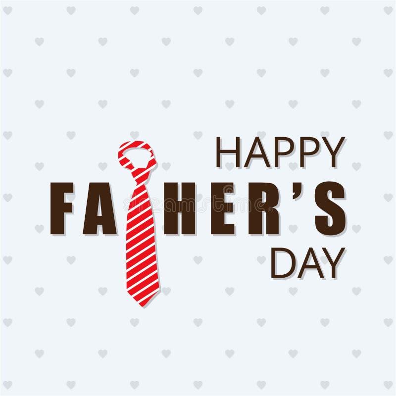 Szczęśliwy ojciec, s dzień ' również zwrócić corel ilustracji wektora royalty ilustracja
