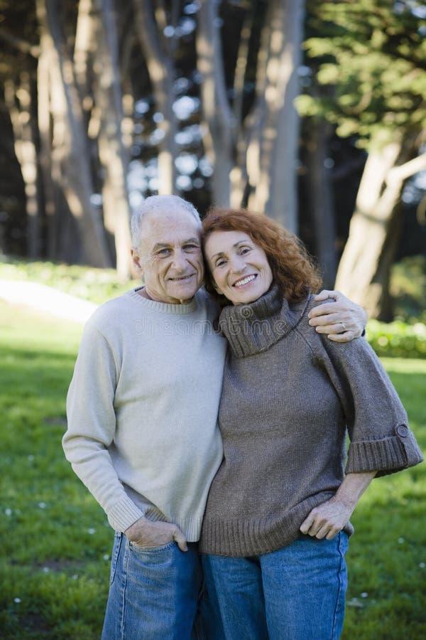 szczęśliwy para senior obrazy stock