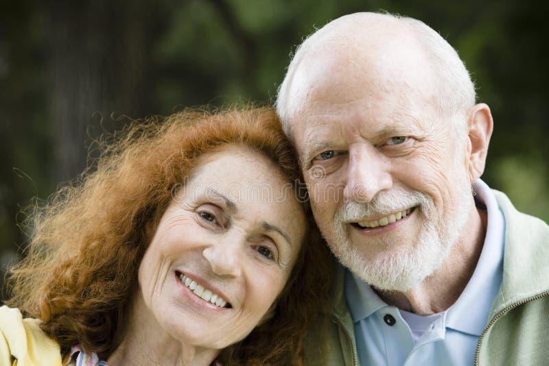 szczęśliwy para senior zdjęcie stock