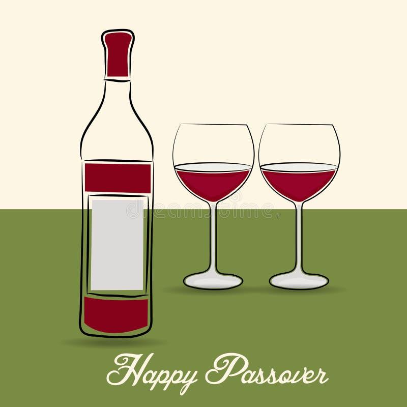 Szczęśliwy Passover royalty ilustracja