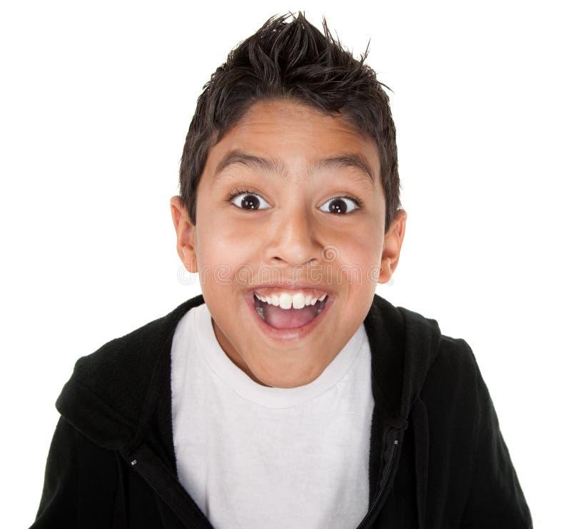 szczęśliwy prawdziwy młodzieniec obraz stock